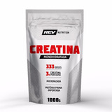Creatina Monohidratada - 1000g - Rev Nutrition