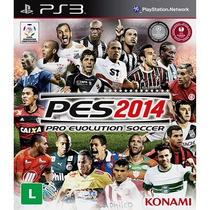 Pro Evolution Soccer 2014 - Pes 14 Ps 3 - Mídia Física