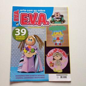 Revista Arte Com As Mãos Eva Lembrancinhas Chaveiro N°31