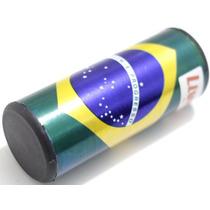 Ganzá Brasil Liverpool Chocalho Pequeno 9 X 4 Cm - Dinhos