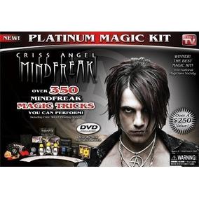 Kit De Magia Platinum Criss Angel
