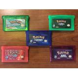 Pokemon Gba Green, Red, Emerald, Ruby, Sapphire