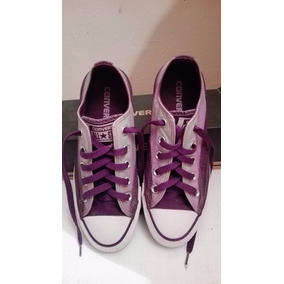 Tenis Converse Originales Color Morado Degradado #23mx
