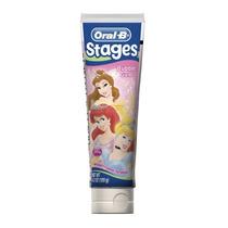 Oral-b Stages Disney Princess Kids Pasta 4.2 Oz (pack De 12