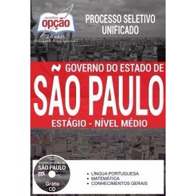 Apostila Governo De São Paulo 2017 - Estágio - Nível Médio