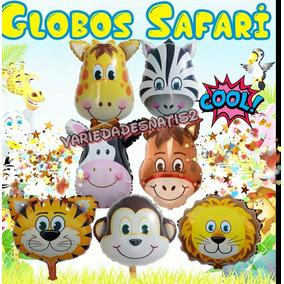 Globos Safari Animales De La Selva