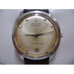 Reloj Hamilton Automatico Pan Europ, Raro De Coleccion