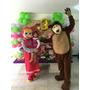 Muñecotes Masha Y El Oso Para Fiestas Show