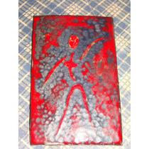 Armas Figura, Antigua Pieza De Cobre Esmaltada
