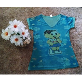 Blusa Camiseta Turma Da Mônica