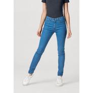 Calça Jeans Feminina Skinny Cintura Média Hering