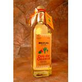 Tequila Mezcal Oro De Oaxaca - Con Gusano - 750ml