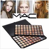 Maquillaje Mac 120 Sombras Neutras Matte, Satinadas