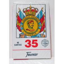 Naipes Cartas Españolas X 40 Fournier 35