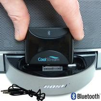 Adaptador Bluetooth Coolstream Duo 30 Pin Bose Y Autos