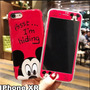 mickey (vermelho)- iphone XR