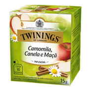 Chá Twinings Camomila, Canela E Maça 10 Sachês