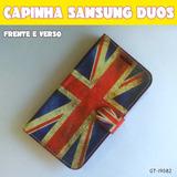 Cap Capa Inglaterra Frent Tras Cel Samsung Galaxy Gran Duos