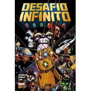 Livro Marvel - Desafio Infinito - 372 Páginas - Novo Lacrado