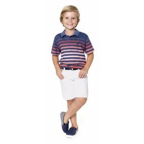 Camisa Polo Infantil Manga Curta Trick Nick Tamanho 12