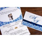 Convites Casamento - Aniversários - Com Fita De Cetim