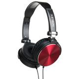 Auriculares Noblex Hp97br Negro Y Rojo