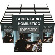 Comentário Bíblico Homilético Do Pregador - 37 Volumes