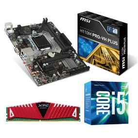 Kit Gamer- Proc. I5 7400+ Mb Msi H110m Pro-vh Plus+ 8 Gb Adt
