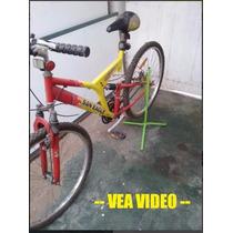 Exhibidor Soporte Bicicleta Base Bicicletero Pedestal