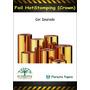 Foil Para Minc Hotstamping Dourado - 5 Metros