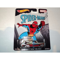 Hot Wheels Pop Culture Marvel Spider Man Chevy Nova