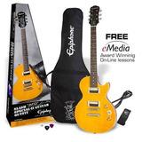 Pack Nuevo Guitarra Elect Slash Epiphone Afd Lespaul Sp