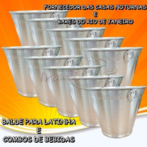 Balde De Gelo C/argola N°8 Kit Com 10 Pçs