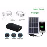 Panel Solar Portatil 9v/5w Diseñado Para Carga De Celulares