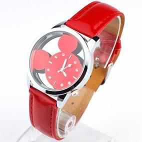 Disney - Reloj De Pulsera Mickey Mouse Rojo