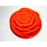 Forma De Silicone Para Bolo Em Formato De Flor