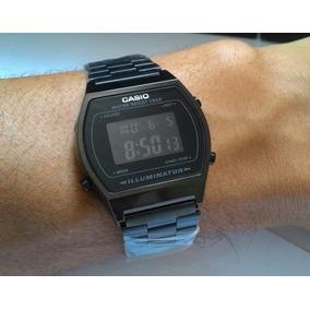 Relógio Cassio Retro Preto + Caixa Com Frete Grátis