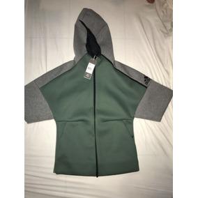 Sudadera Adidas Hombre - Sudaderas y Hoodies Verde claro en Mercado ... 8beb40bde4373
