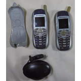 Pack X 2 Celular Motorola I265 Nextel Holder Manual Cargador