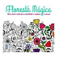 Floresta Mágica Livro De Colorir Antiestresse