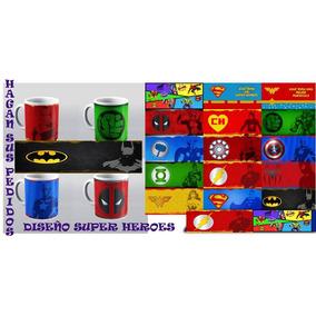 Taza Superhéroes Personalizada