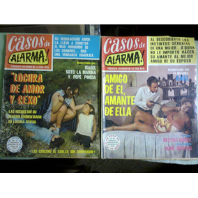 Revistas Casos De Alarma Primeros Números México 1972