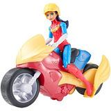 Dc Super Hero Girls Wonder Woman Figura De Acción Con Motoc