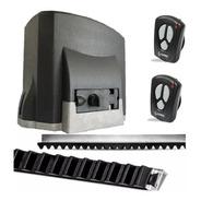 Kit Motor Portón Corredizo Seg Solo Fit Automatización 400kg