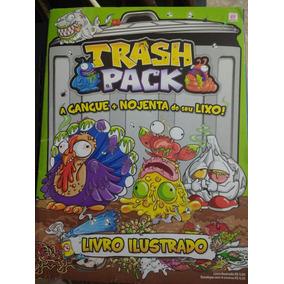 Álbum Trash Pack A Gangue Nojenta De Seu Lixo! Incompleto