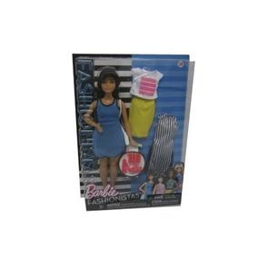Muñeca Barbie Fashionista Con Accesorios Modelos Surtidos.