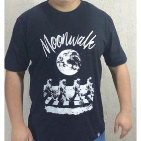 Camiseta Nerd Moonwalk Astronauta