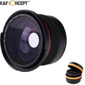 52mm K&f Fisheye Nikon D5100 D5200 D5300 18-55mm