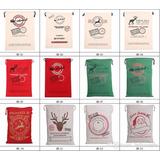 Bolsa Para Regalo De Navidad. 50x70 Cm Excelente Calidad..