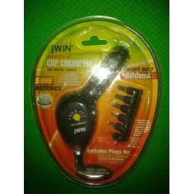 Adaptador Jwin Car Convertidor Ac/dc 110v/220v